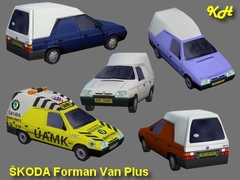 Škoda Forman Van Plus pack