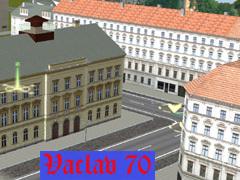 Městské rohové domy