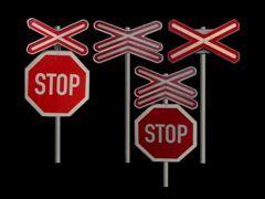 Dopravní značky k přejezdům