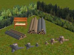 Objekty do lesa