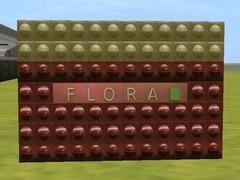 Zeď stanice Flora