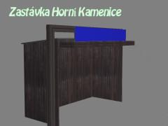 zastávka Horní Kamenice