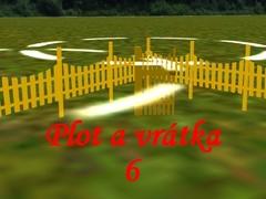 Venkovský plot s vrátky 6