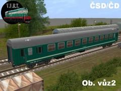 ČSD Wlab-k Obytný vůz 2
