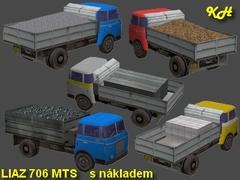 Liaz 706 MTSP pack