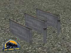 Betonový plot 1