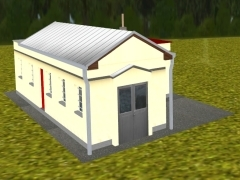 Domek údržby v Lužné