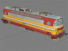 ČD 240 053-9 cargo nálepka