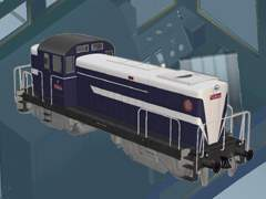 Interiér lokomotivy T434.004
