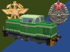 T334 Interier zelený