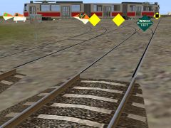 Tram track chunky