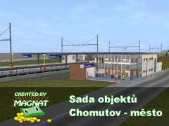 Sada objektů - Chomutov město