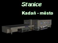 Stanice Kadaň - Město