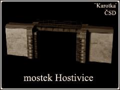 Mostek Hostivice