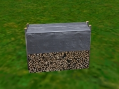 Hromada dřeva