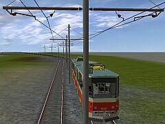 Tram Trolley Set