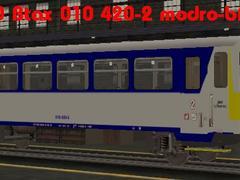ČD Btax 010 modro-bílý