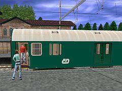 Osobní vozy Y/B 70 ČD (Zelené)