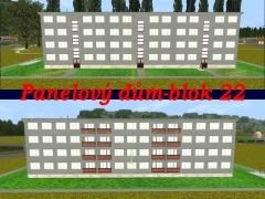 Panelový dům-blok 22