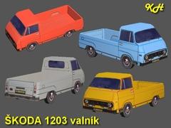 Škoda 1203 valník