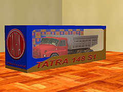TATRA 148 S1c - s nákladem