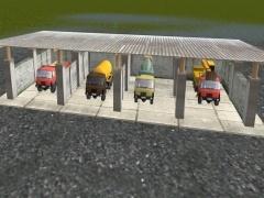 Stání pro nákladní auta