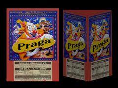 Plakáty cirkusu Praga