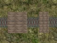 Dřevěné přechody pro pěší