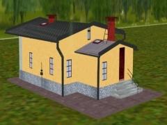 Strážní domek z H0