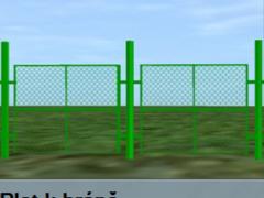 Plot k bráně
