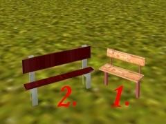Dvě lavičky