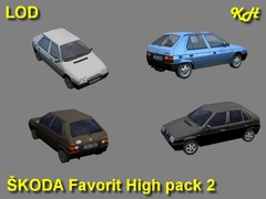 Škoda Favorit High Pack 2