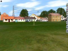 Vesnické domky