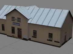 Staničná budova Bošany
