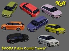 Škoda Fabia combi nová pack