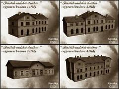 Buštěhradská dráha - budovy 1,2,3,4 třídy