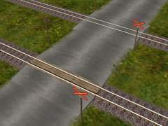 Nechráněné železniční přejezdy