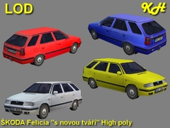 Škoda Felicia CNT High Pack
