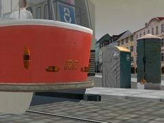 Zásobník písku pro tramvaje