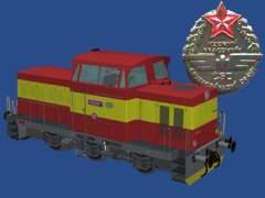 T334 Interier červený