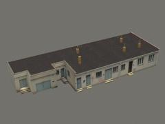 Budova traťové údržby Budišov
