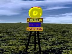 Hotelový poutač