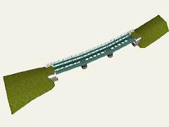 Nízký most v oblouku