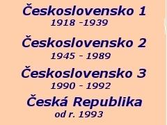 Regiony ČSR a ČR