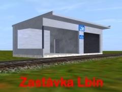 Zastávka Lbín