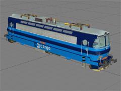 ČD 240 106-5 Cargo lak