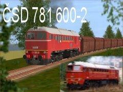 ČSD 781 600-2