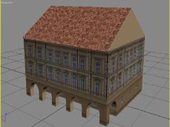 Historický dům s podloubím 2