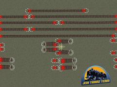 Modelové kolejiště - výhybky 4°