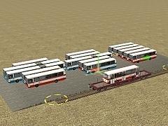 Složiště autobusů